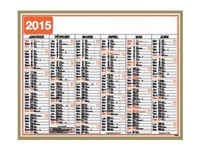 Oberthur Classique - calendrier