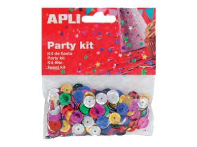 Apli Party - confettis - 14 gr - 1.1 cm - ronds
