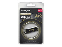 Integral Europe Clés USB INFD64GB360SEC3.0