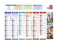 CBG 4 Saisons Médium - calendrier bancaire
