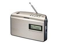 Grundig Music 7000 DAB+ DAB bærbar radio Sort perle
