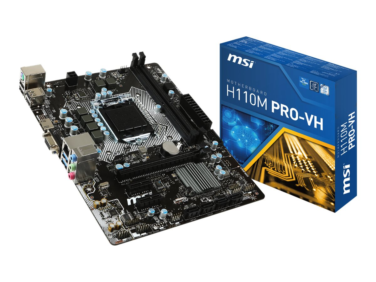 MSI H110M PRO-VH PLACA BASE MICRO ATX LGA1151 SOCK