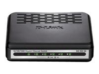 D-Link GO-SW-5G Switch ikke administreret 5 x 10/100/1000 desktop