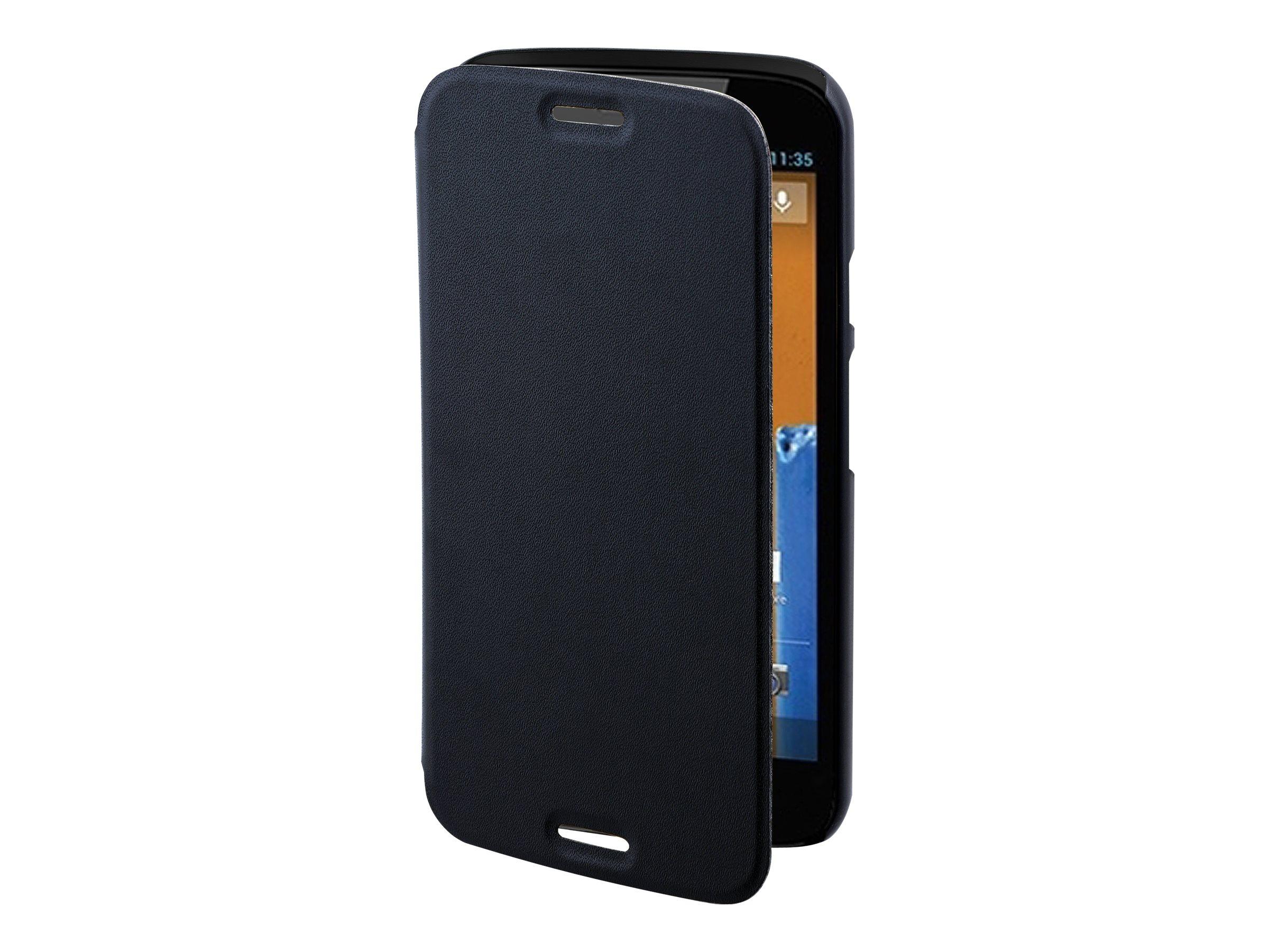 Muvit Easy Folio - Protection à rabat pour Motorola MOTO G (2nd Gen.) - noir