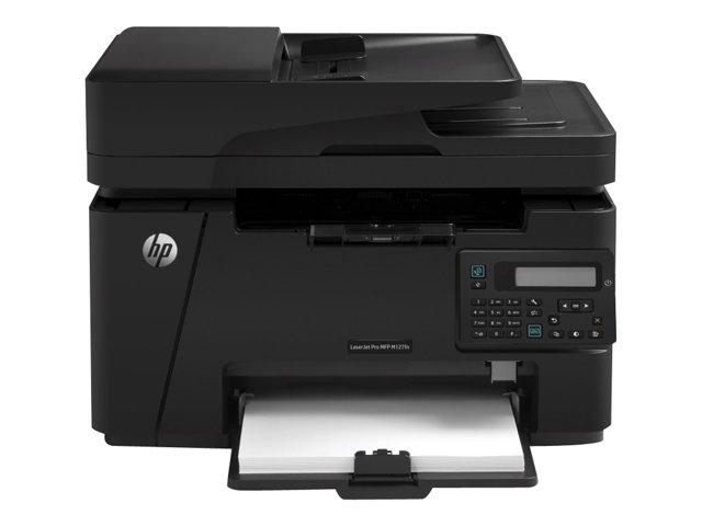 Image of HP LaserJet Pro MFP M127fn - multifunction printer ( B/W )