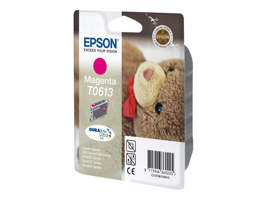 Epson T0613 - ourson - magenta - originale - cartouche d'encre