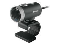 Microsoft LifeCam Cinema Webkamera farve 1280 x 720 audio USB 2.0
