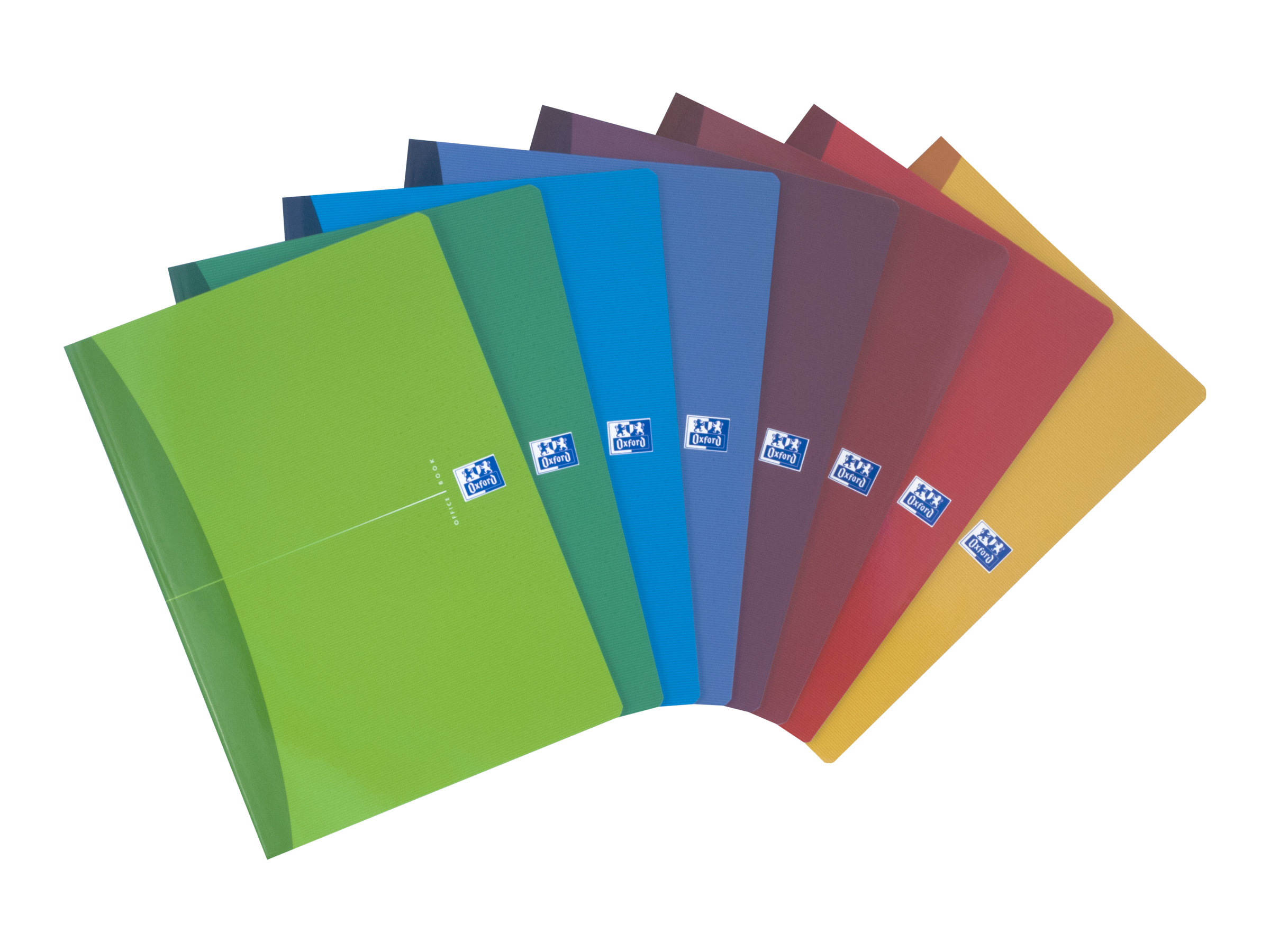 Oxford Office Essentials - A4 - Cahier - 21 x 29,7 - 96 pages - Grands carreaux