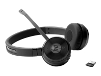 HP UC Wireless Duo - Headset - on-ear - wireless - Bluetooth - NFC - for Elite x3; ProBook