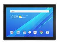 "Lenovo Tab4 10 ZA2J - Tablet - Android 7.1 (Nougat) - 16 GB eMMC - 10.1"" IPS (1280 x 800) - microSD slot - slate black"