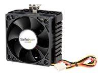 StarTech.com 65x60x45mm Socket 7/370 CPU Cooler Fan w/ Heatsink & TX3 connector