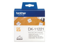 Brother DK-11221 23 x 23 mm 1000 etikette(r) etiketter