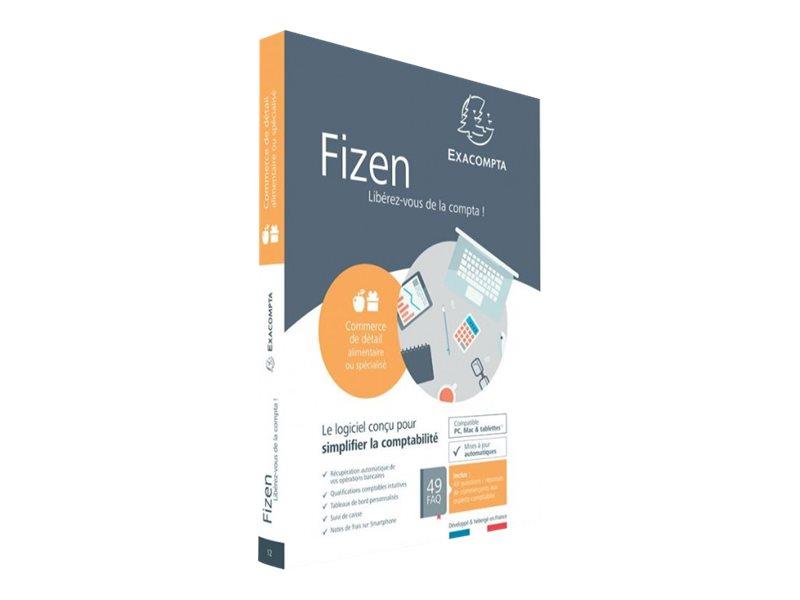 Fizen Commerce de détail alimentaire ou spécialisé - ensemble de boîtes