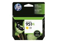 HP 951XL - à rendement élevé - jaune - originale - cartouche d'encre