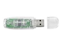 Intenso Rainbow Line USB flashdrive 32 GB USB 2.0 gennemsigtig