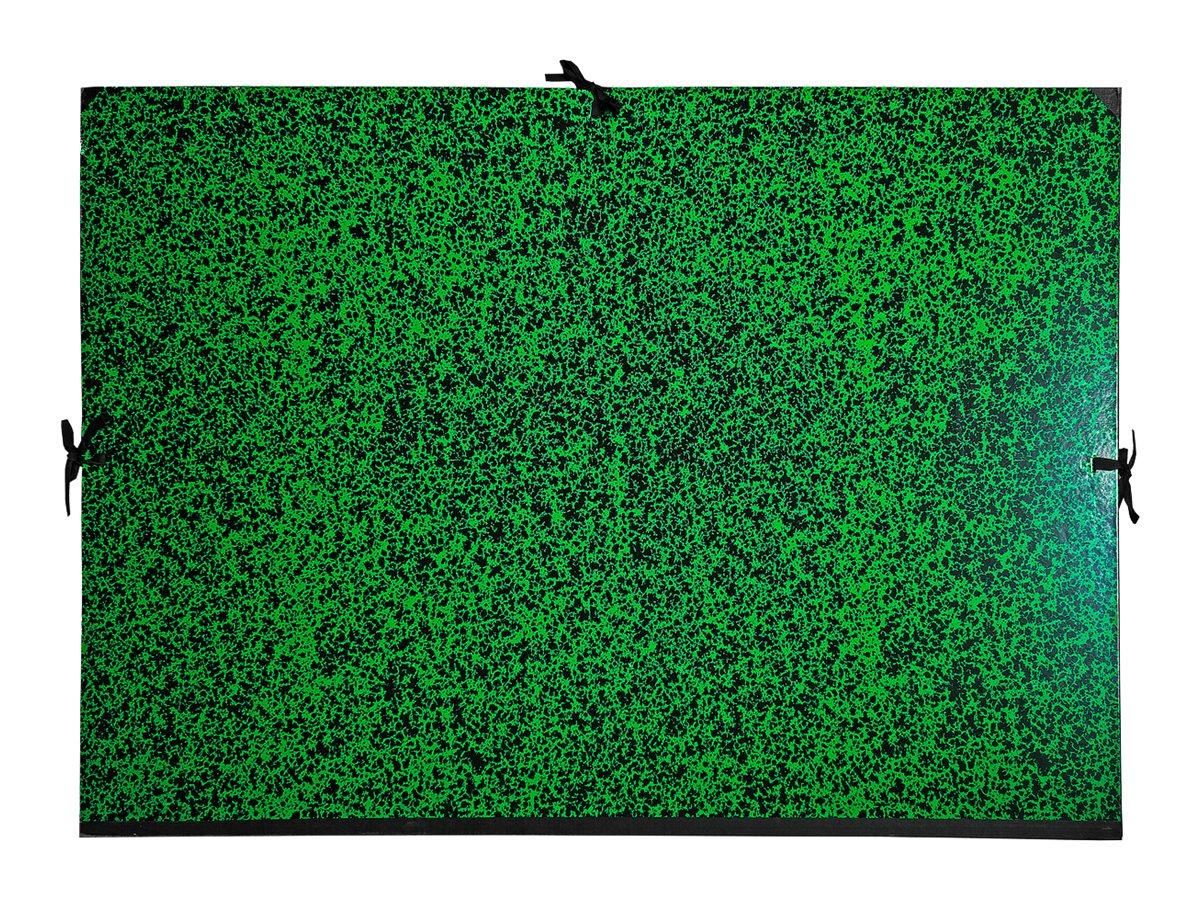 Exacompta Annonay - Carton à dessin - 30 mm - 50 x 65 cm - vert