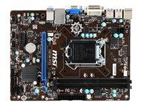MSI H81M-P33 - Motherboard - micro ATX