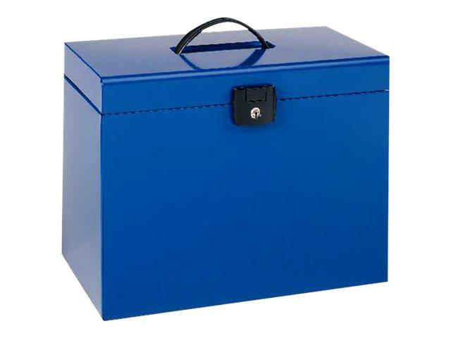 Esselte - Classeur metal + dossiers - A4 - bleu