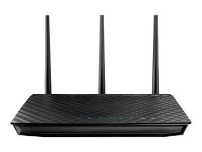 Image of ASUS RT-N66U - wireless router - 802.11a/b/g/n - desktop