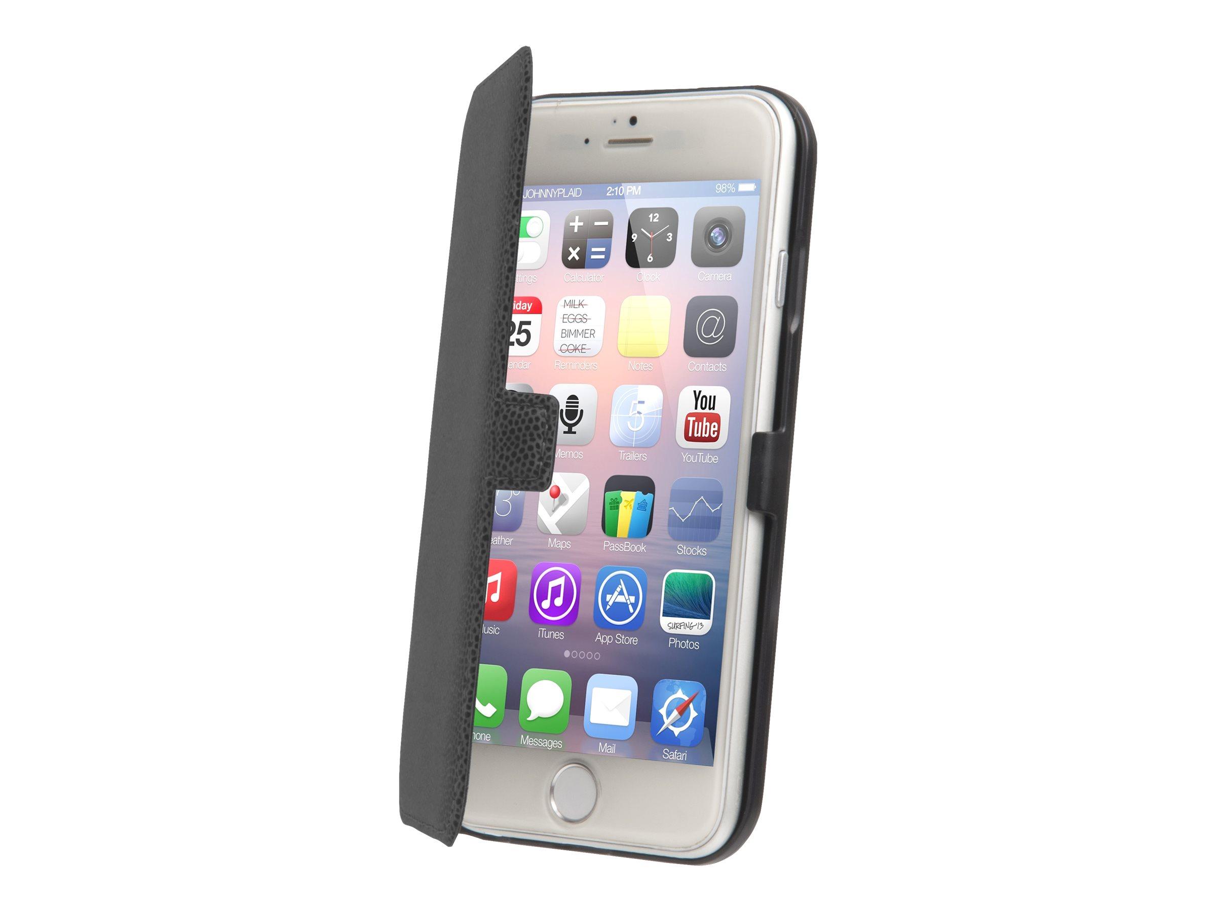 Muvit Made in Paris Slim Folio - Protection à rabat pour iPhone 6 Plus - noir