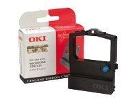 OKI - noir - ruban d'impression - 9002315