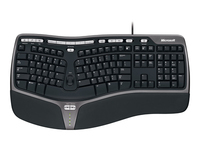 Microsoft Natural Ergonomic Keyboard 4000 Tastatur USB Nordisk