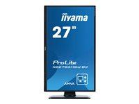 iiyama ProLite XB2783HSU-B3 27 Inch AMVA+, Full HD, Black, HDMI, Display Port, USB Hub, H-A
