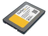 StarTech.com Boitier d'adaptateur SSD SATA vers Mini SATA 2,5po