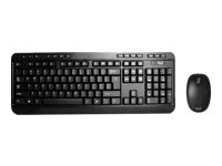 Adesso Wireless Desktop Keyboard & Mouse Combo WKB-1300UB