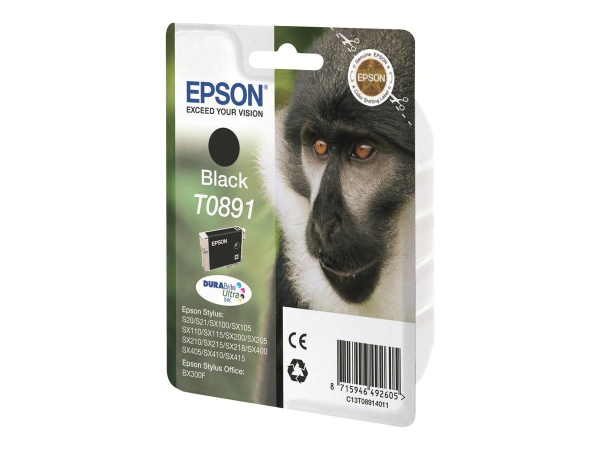 Epson T0891 - singe - noir - originale - cartouche d'encre