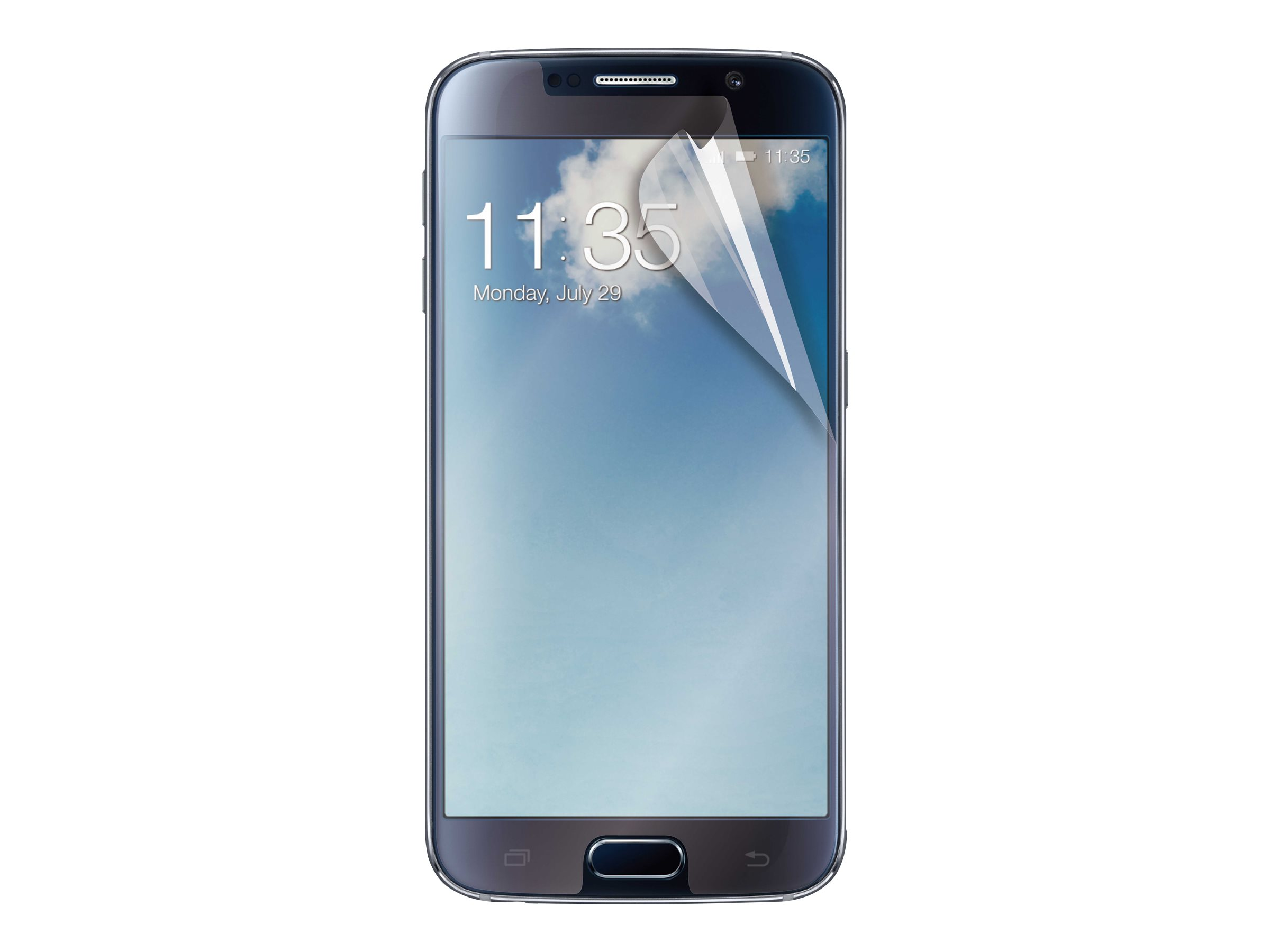 Muvit Customline - 1 film de Protection d'écran - verre trempé - pour Samsung Galaxy S6 -