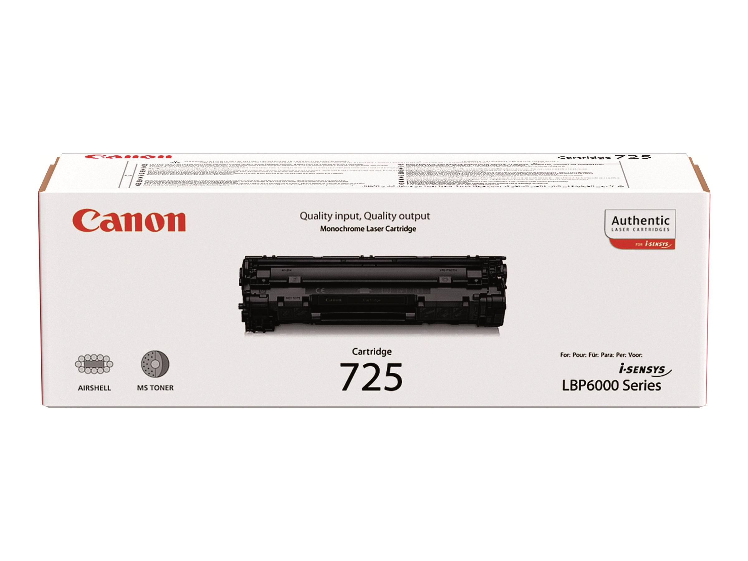 Canon CRG-725 - noir - originale - cartouche de toner