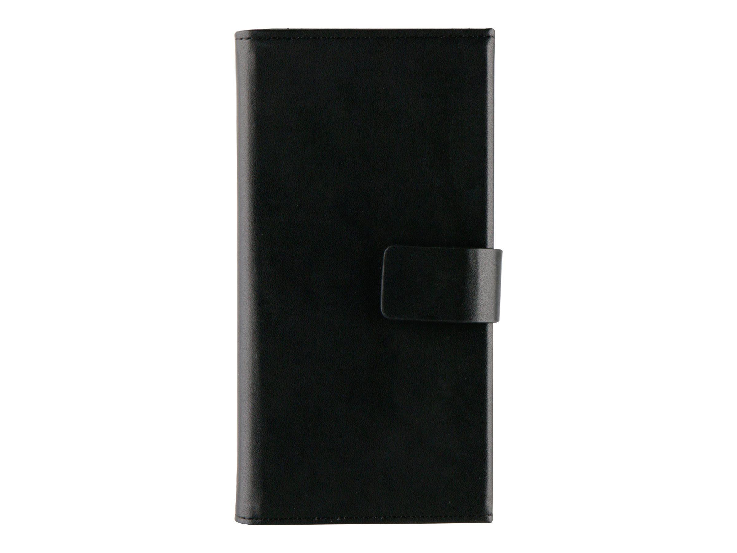 Muvit Magnet Wallet - Protection à rabat pour Samsung Galaxy S7 edge - noir