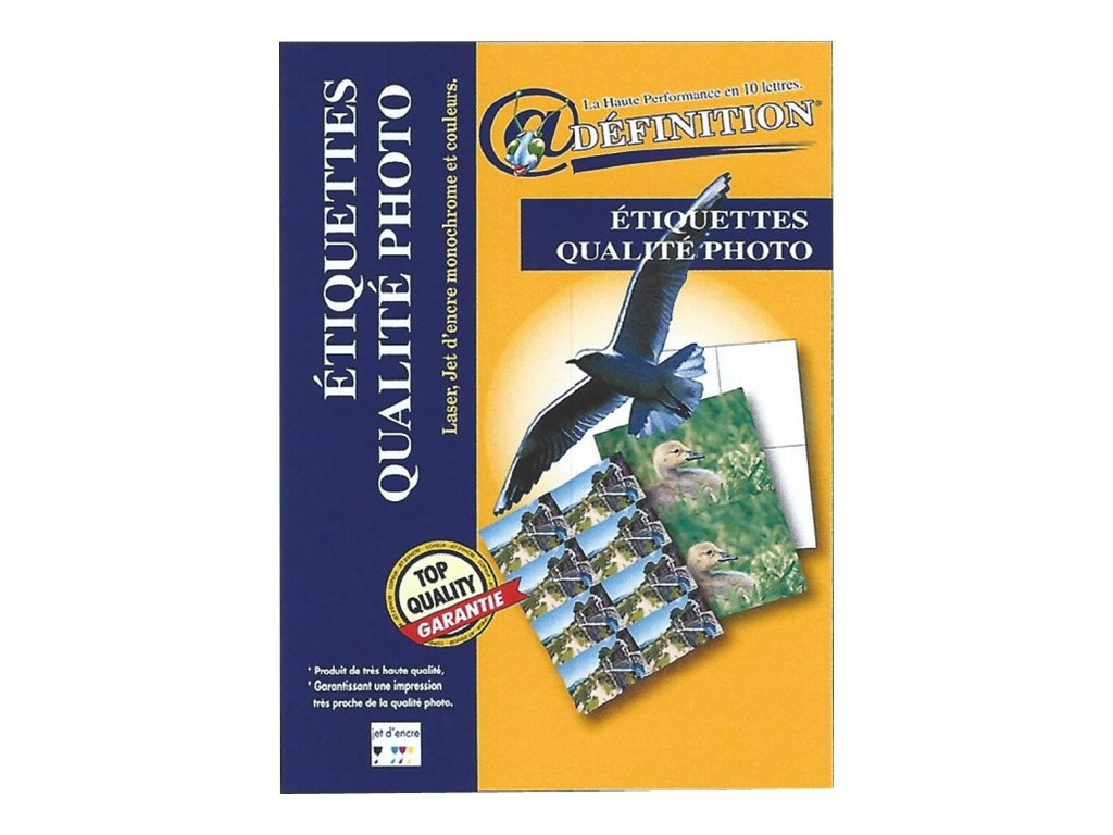 QRT Graphique Définition Qualite Photo - étiquettes adhésives - 525 étiquette(s)