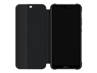 Huawei Flipomslag til mobiltelefon sort for Huawei P20 lite