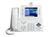 Cisco UC Phone 9951, A White, Std Hndst with Camera