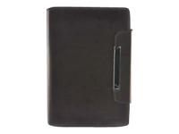Gear Head Genuine Leather Slim Portfolio LFS3800BRN