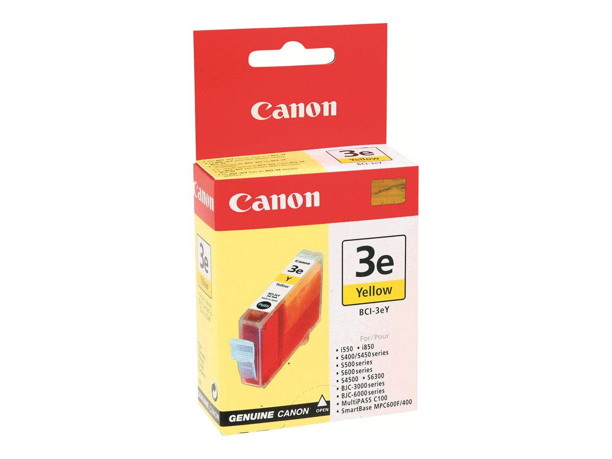 Canon BCI-3EY - jaune - originale - réservoir d'encre