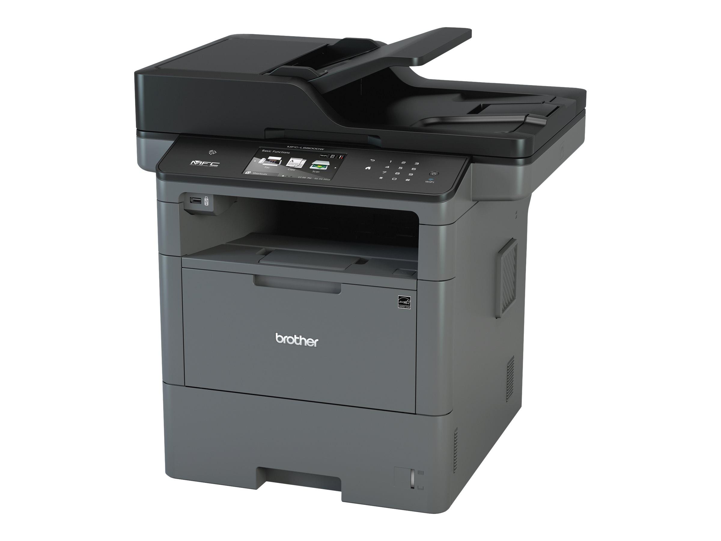 Brother MFC-L6800DW - imprimante multifonctions (Noir et blanc)