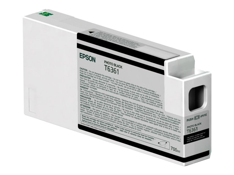 Epson UltraChrome HDR - photo noire - originale - cartouche d'encre