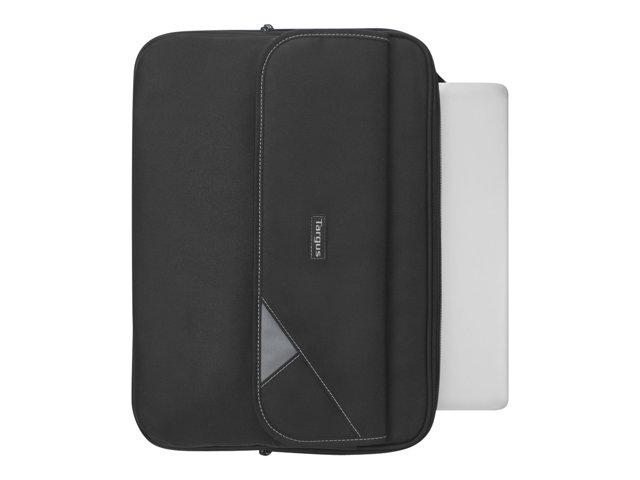 targus clamshell laptop case sacoche pour ordinateur portable targus sacoche malette et. Black Bedroom Furniture Sets. Home Design Ideas