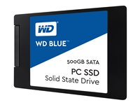 WD, SSD Blue 500GB 2.5 7mm SATA Gen 3