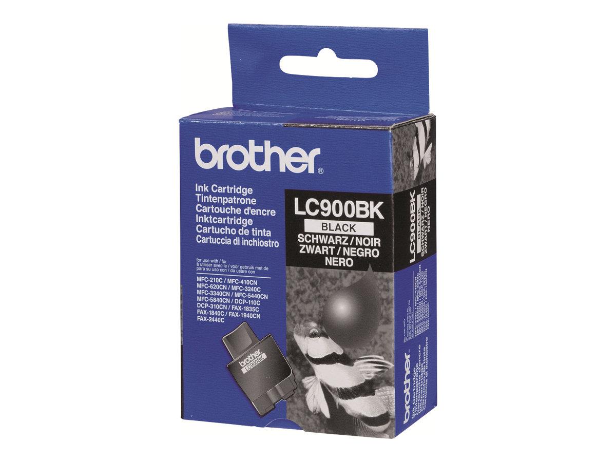 Brother LC900BK - noir - originale - cartouche d'encre
