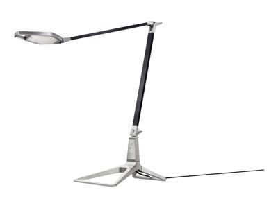 Leitz Style Smart - Stolní lampa - LED - teplá bílá/denní světlo - saténově černá