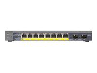NETGEAR ProSafe GS110TP - commutateur - 8 ports - Géré - Ordinateur de bureau