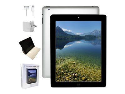 """Apple iPad 2 Wi-Fi - Tablet - 16 GB - 9.7"""" IPS (1024 x 768) - black - refurbished"""