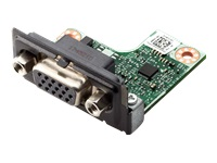 HP Flex IO Card - VGA port - for EliteDesk 705 G5, 800 G5; ProDesk 400 G6, 40X G4, 600 G5; Workstation Z1 G5, Z2, Z2 G4