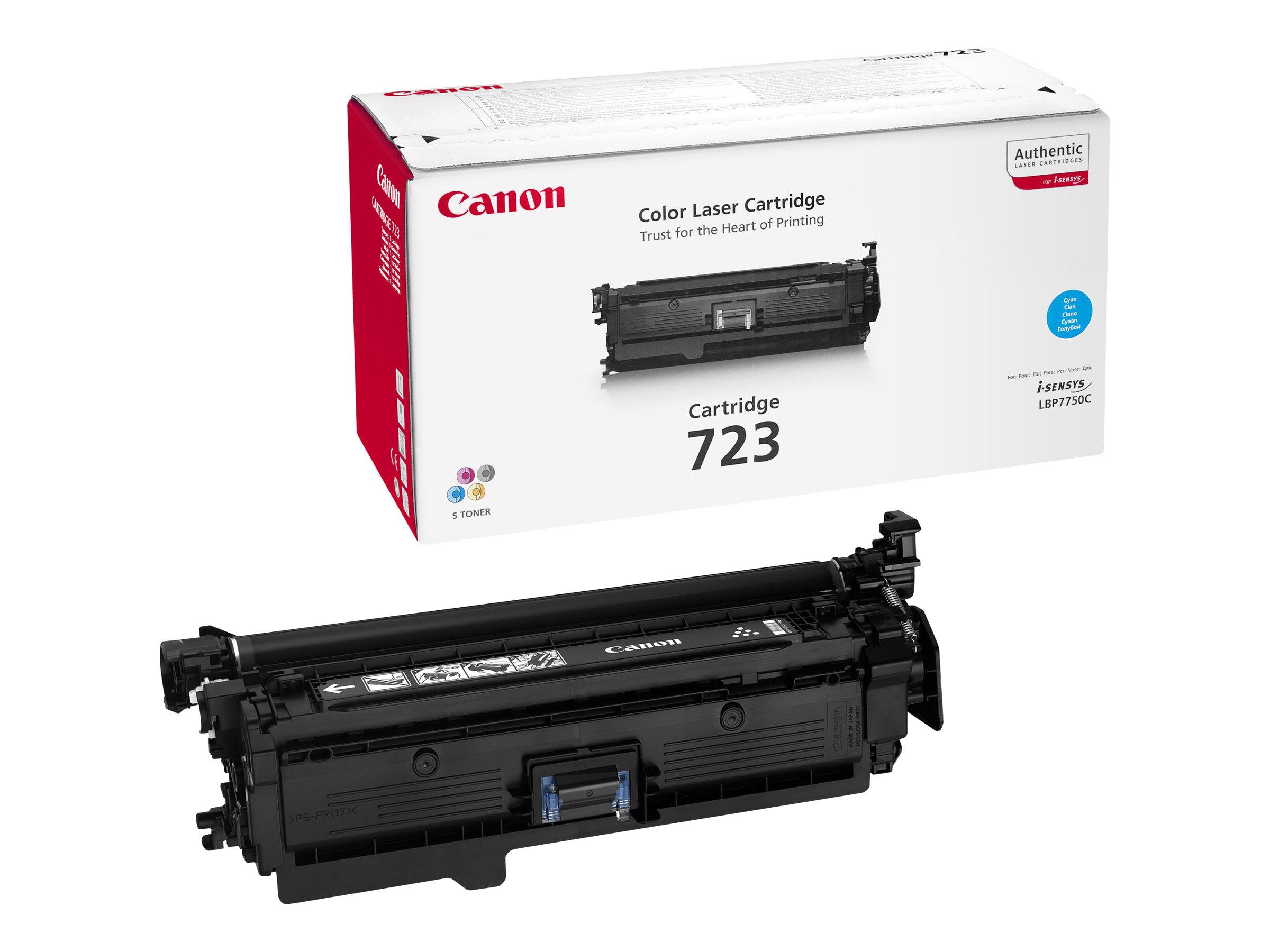 Canon 723 - cyan - original - toner