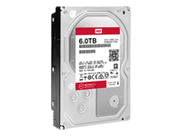WD Red Pro NAS Hard Drive WD6002FFWX - disque dur - 6 To - SATA 6Gb/s