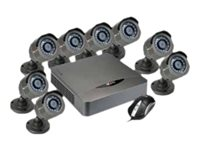 Nexxt Xpy8008-HD - DVR + camera(s) - wired